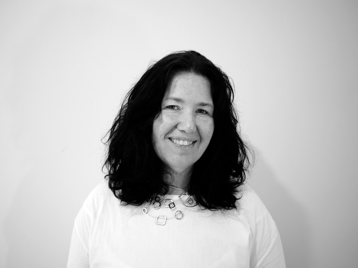Black and White Photo of Bridget Robertson, Inkt Creative Copywriter and Project Manager
